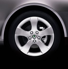 Pegasus alloy wheel (source: Škoda Auto)