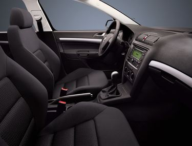 Dynamic I. and Dynamic II. sports package interior (source: Škoda Auto)