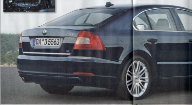 First pictures of Octavia 3? (forr�s: Aut�piac weekly magazine)